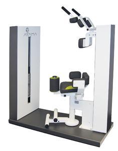 Mit dem neuen Schupp-Trainingsgerät lassen sich die Rotatoren und die schrägen Bauchmuskeln gelenkschonend und in biomechanisch optimalen Bewegungsmustern kräftigen.