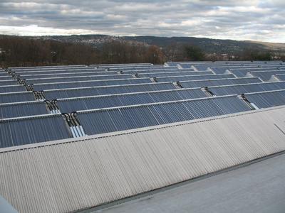 Solarthermische Großanlage
