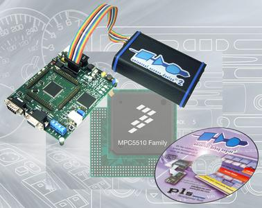 UDE 2.4 supports Freescale?s MPC5510 Power Architecture? 32-bit MCUs with unlimited multicore debugging
