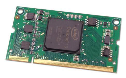 XynergyCY10 System-on-Module mit Cyclone 10 LP FPGA
