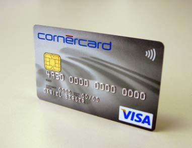 Contactless Visa payWave cards of Cornèrcard go multi-functional with virtual LEGIC® all-in-one card
