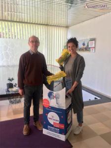 CompuSafe AG engagiert sich für recycling4smile & Rote Nasen Deutschland e.V.