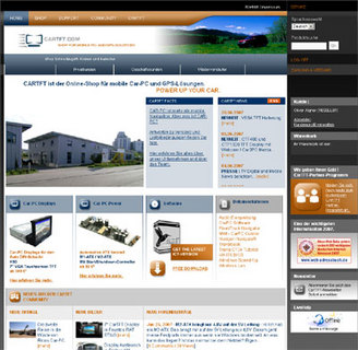 CarTFT.com : Online Car-PC Shop Relaunch