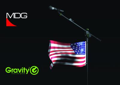 MDG Named North American Distributor for Gravity, the New Premium Stands Brand from the Adam Hall Group