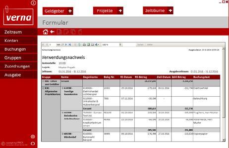 Systemhaus LANOS mit neuer Lösung zur Verwaltung von Verwendungsnachweisen