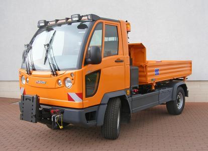 Eine gewichtige Neuheit: Der Multicar FUMO mit 5,6 Tonnen zulässigem Gesamtgewicht.