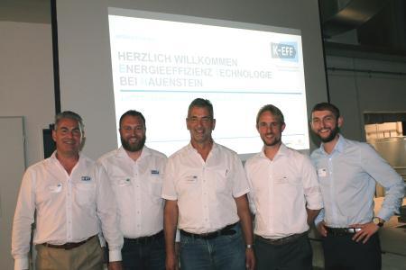 Die KEFF-Moderatoren und Joachim Hauenstein, geschäftsführender Gesellschafter der ETH-messtechnik GmbH, Fotos: KEFF
