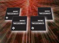 Texas Instruments Transforms Digital Video in the Car and Beyond with Four New DaVinci™ Processors, Priced as Low as $9.95