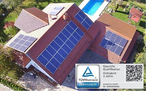 Photovoltaikplanung mit Qualitfikation