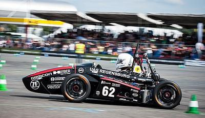 This year Continental supports 37 teams worldwide with highly specialized vehicle components and technical expertise (Photo: Formula Student Germany / Grams)