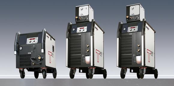 Modernste Inverter-Technologie robust verpackt: Mit den Verfahren forceArc® und rootArc® erschließt sich die Stromquelle Taurus Synergic weitere Anwendungsfelder (Foto: EWM )