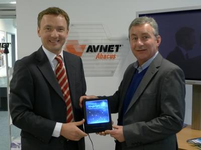 Hagen Götze, Marketing Manager, Avnet Abacus; Udo Reinhold, Managing Director, Kingbright Europe
