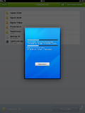 Screenshot TeamViewer Filetransfer / iPad