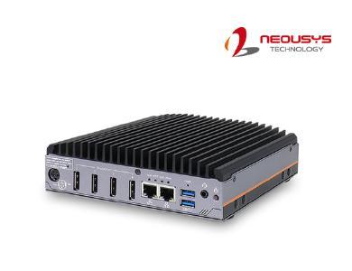 Neousys Technology vor Markteinführung der Nuvo-2700DS-Baureihe: Ein robustes AMD Ryzen™ Embedded V1000-4x4K-Digital Signage System mit Unterstützung für Wi-Fi 6, 5G und Google Edge-TPU