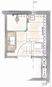 Bild 6 2: Plancofix-Installation auch außerhalb des Duschbereiches möglich. Foto: Geerkens Bäder Wärme Solar GmbH, Rheinberg - Pentair Jung Pumpen, Steinhagen