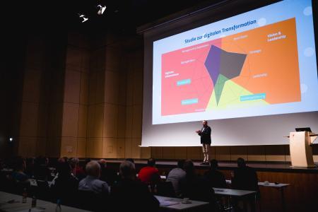 Keynote Speaker Sven Enger zum Thema Digitalisierung der Arbeitswelt in Münster