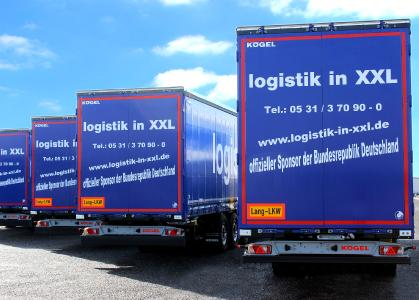 Kögel Cargo Rail and Mega Rail Euro Trailers in XXL design