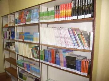 "At the central office of the Community Library Service lending books are lined with ""filmolux soft PP"" and subsequently distributed to the municipal  libraries throughout the country"