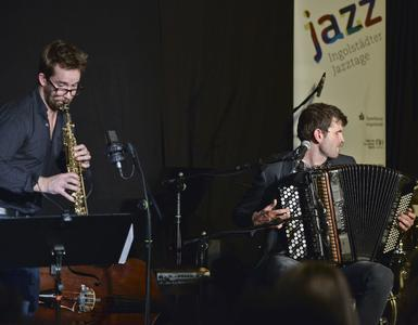 Cool appearance: the duo Vincent Peirani & Émile Parisien were among the highlights of the Ingolstadt Jazz Festival 2015