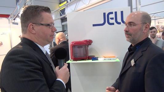 Foto (c): Frederik Straube - Harry Flint von GBN Systems im Interview mit Gerhard Jell