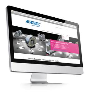 Internet-Refresh: Alfatec GmbH Fördersysteme präsentiert optimierte Website (Bild: ALFATEC GmbH Fördersysteme)