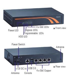 Low Power Intel® Celeron®-based Network Security Appliance