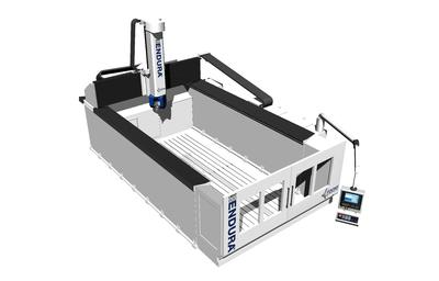 FOOKE Compact Portal Milling Machine ENDURA® 600LINEAR Specialist in milling models and prototypes