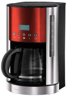tale Glas-Kaffeemaschine rubin-rot 18626-56