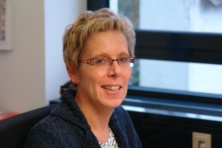 Dipl.-Math. Sabine Widdermann, Leitung Forschung und Technik im Industrieverband Massivumformung e. V.