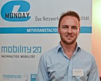 Sven Schulz, Vorsitzender der Geschäftsführung der Akasol GmbH, sprach beim e-Monday in München über hocheffiziente Lithium-Ionen-Batteriesysteme