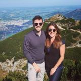 Simon Mangelberger und Jessica Wimmer