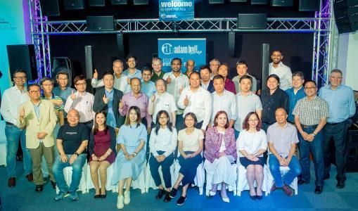 Adam Hall Asia Pte Ltd a organisé un Sommet des distributeurs de la région Asie-Pacifique à Singapour