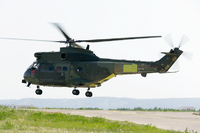 Eurocopter's upgraded Puma Mk2 helicopter for the UK Royal Air Force makes its first flight