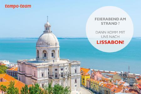 Tempo-Team Personaldienstleistungen - Stellenangebot: Ein Jahr leben und arbeiten in Lissabon.