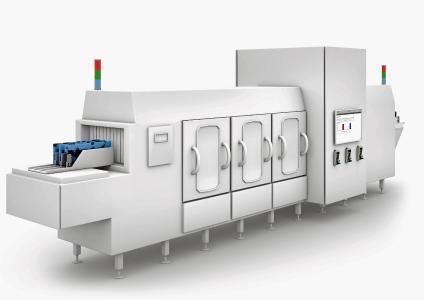 Waschmaschine für Schokoladenformen