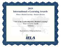 International E-Learning Award