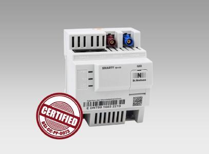 Smart Meter Gateway SiconiaTM SMARTY IQ CC-zertifiziert vom BSI (Bildquelle: Sagemcom Dr. Neuhaus GmbH)