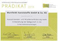 [PDF] Urkunde Murtfeldt Kunststoffe GmbH & Co. KG