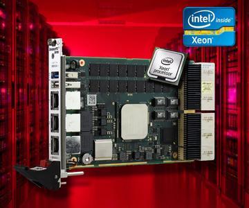 G25A   3U Compact PCI Serial Intel Xeon D CPU Board