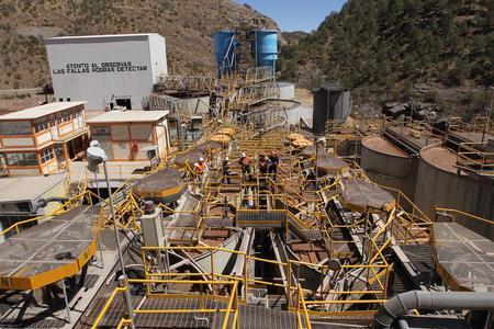 Guanacei Verarbeitungsanlage, Endeavour Silver - Mexiko