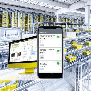 WAMAS® Lighthouse Mobile - Mit der neuen mobilen Web App stehen Lagerinformationen immer und überall in Echtzeit bereit