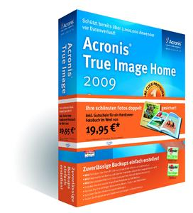 Aktionsbox Acronis True Image Home 2009