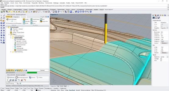 RhinoCAM 2019 - CNC-Programmierung, einfach, schnell und kostengünstig