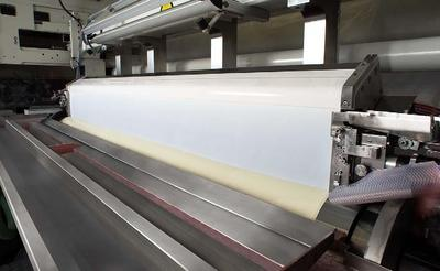 Polytype Converting AG, Switzerland started up one of the fastest inline siliconizing and adhesive coating lines