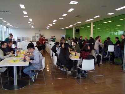 Mensa-Essen von der AWO für Studierende am Hochschul-Campus Pirmasens (Foto: HS KL)