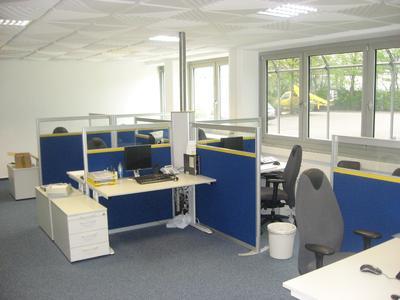 Gardemann Arbeitsbühnen setzt auf CMS-Büromöbelprogramm von TOPTEC
