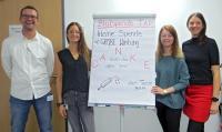 Die Initiatoren der Blutspende-Aktion: das betriebliche Gesundheitsmanagement am Standort