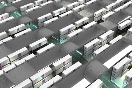 Die Rechenzentrumsmodule können je nach Sicherheitsbedarf, z. B. in Containern oder in Sicherheitsräumen, direkt in die Mine eingebracht werden. Quelle Rittal GmbH & Co. KG