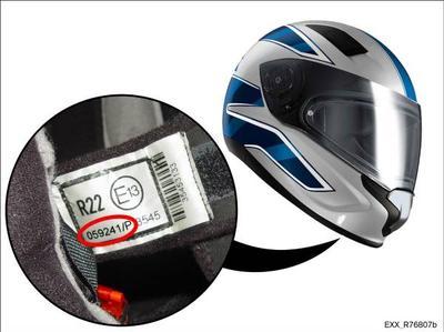 BMW Motorrad Helm Sport - Prüfnummer 059241/P