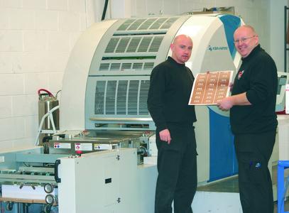 ADC Spezialisten zeigen sich mit der Druckqualität der Genius 52UV sehr zufrieden
